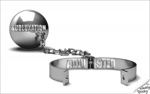 subluxation ball and chain