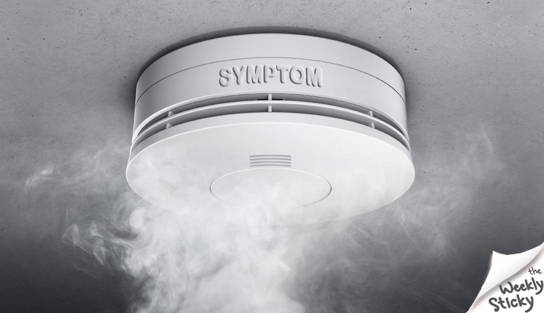 symptom smoke detector